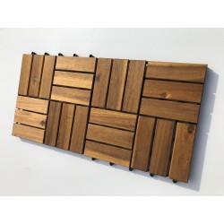 Podest Tarasowy Akacjowy Płytki na Taras 30x30x2,4 cm