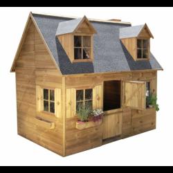 Drewniany Domek Ogrodowy Dla Dzieci Maria na Platformie Scenie