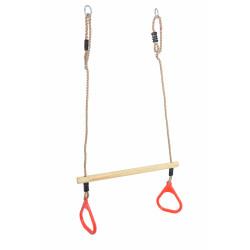 Trapez Drewniany do hustawki z uchwytami od 4iQ