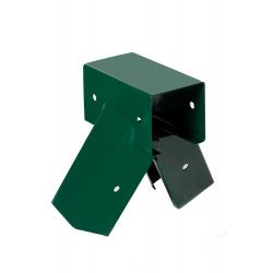 Lacznik Hustawki Kwadratowy Zielony Kat 100° 9x9cm
