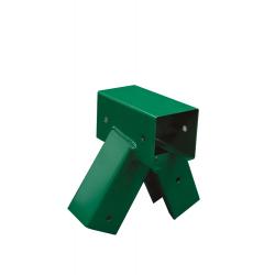 Łącznik Huśtawki Kwadratowy Zielony Kąt 100° 9x9cm